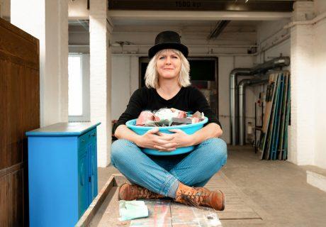Beflügelt von Steffi Ribbe | Möbelkünstlerin | Atelier Farbknall | Potsdam