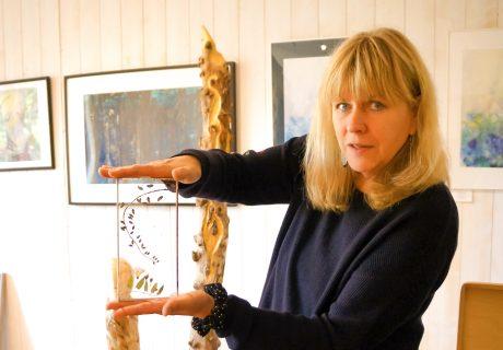 'beflügelt von' Petra Löfflad | Künstlerin | Atelier LöwenART | Wandlitz (BAR)
