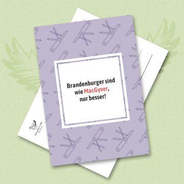 Shop-Link: 10er Pack Postkarten (Motiv MacGyver)