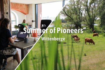 "Initiativen | ""Summer of Pioneers"" – Digitale Pioniere erobern Wittenberge (Prignitz)"