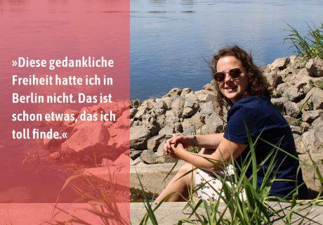 Themenreihe | Ankommen in Brandenburg mit Tina Vogel