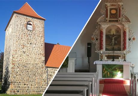Kirchen und Klöster | Die historische Dorfkirche Kunow (PR)