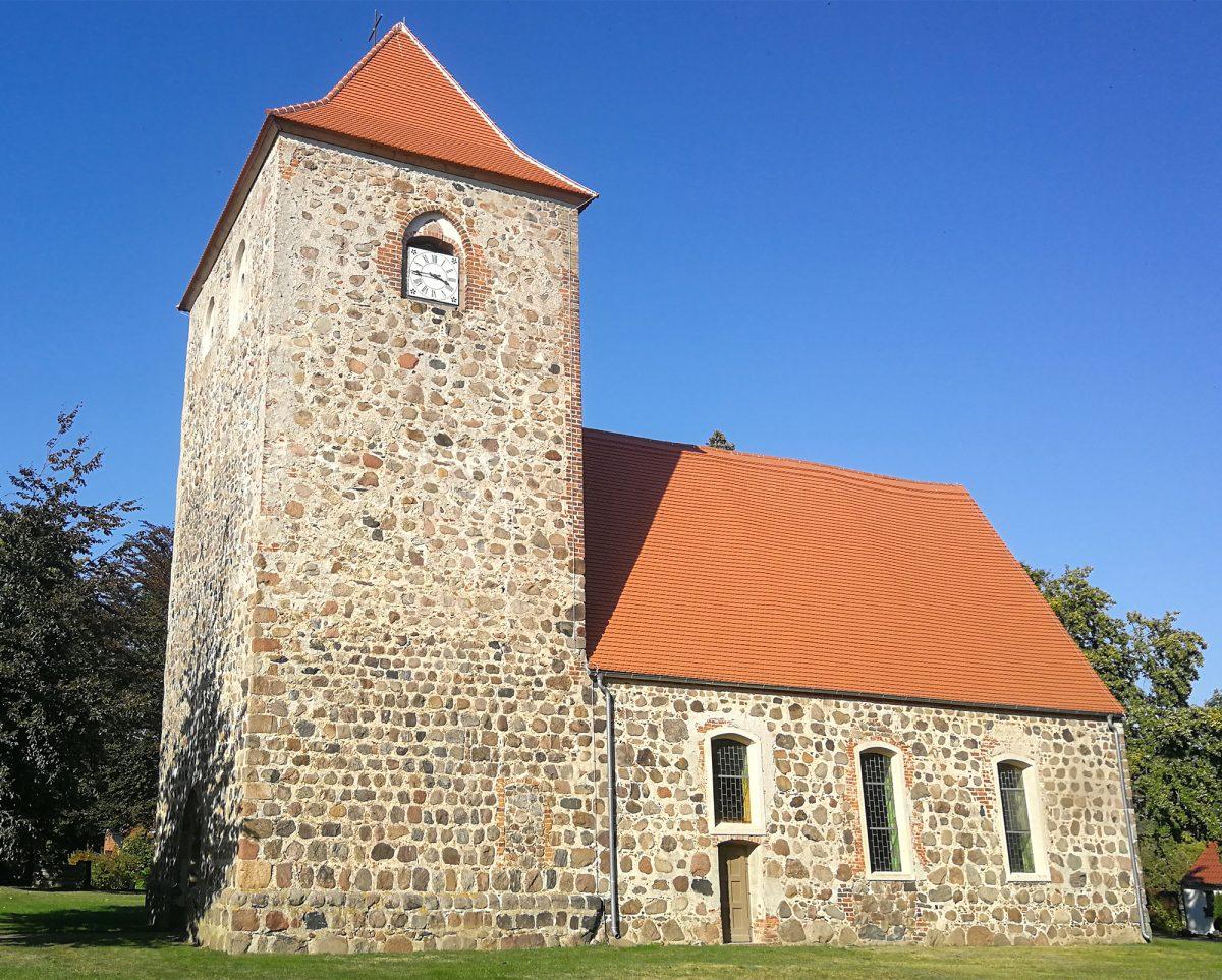 Dorfkirche Kunow - Außenansicht