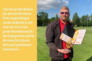 Beflügelt von Nico Haberlandt | Sportsympathiegewinner 2019 | Brandenburg/Havel
